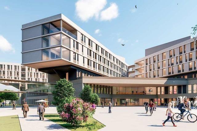Der Baubeschluss für das Zentralklinikum in Lörrach steht bevor