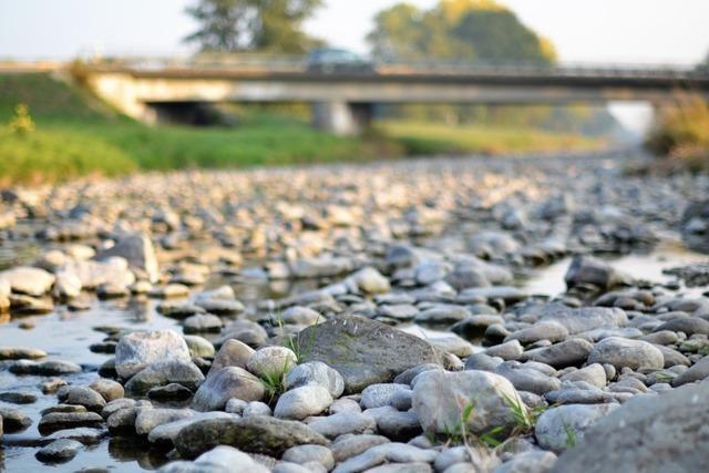 Mangelnde Niederschläge lassen den Grundwasserpegel sinken