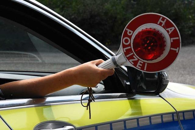 Zahlreiche Beanstandungen bei Verkehrskontrolle in Lörrach