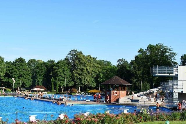Das Breisacher Waldschwimmbad wird saniert