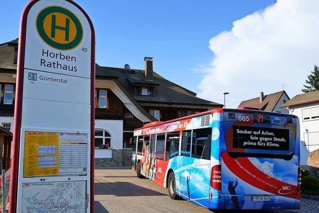Horben will nicht als einzige Gemeinde im Kreis selbst für den Bus zahlen
