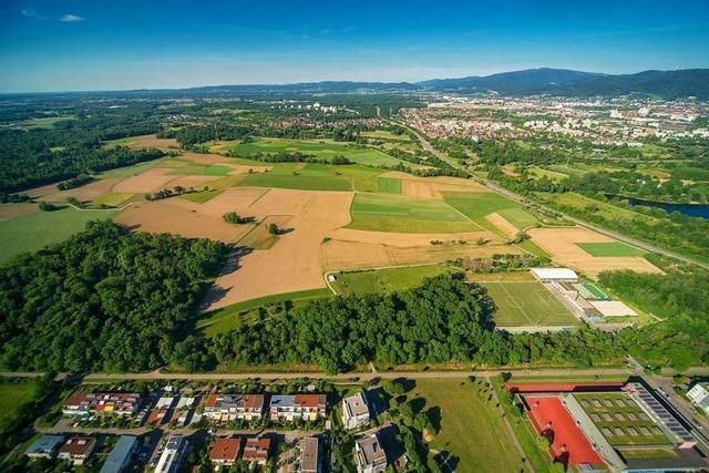 In Dietenbach sollen bald 400.000 Kubikmeter Erde lagern