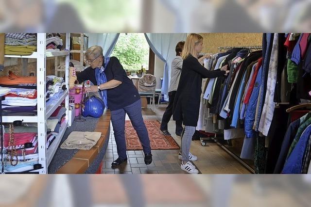 Die Kleiderkammer des DRK kann wieder öffnen