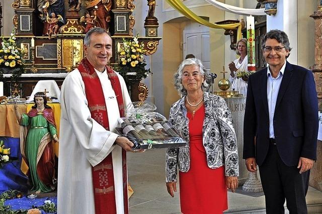 35 Jahre lang für den Glauben engagiert