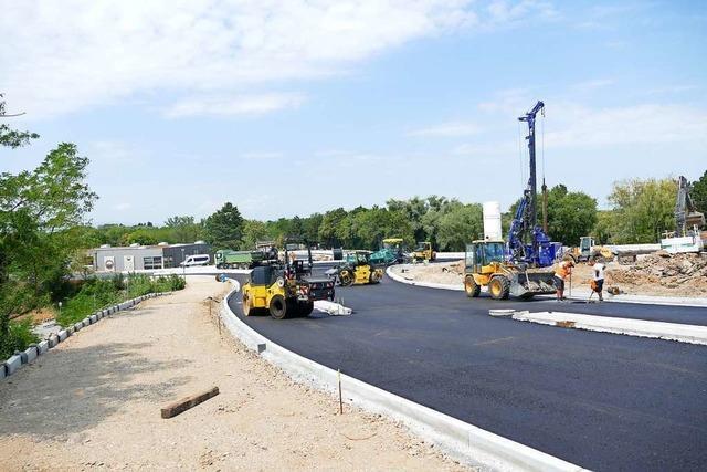 Umbau A5-Anschlussstelle Müllheim-Neuenburg und Sanierung L134 gehen voran