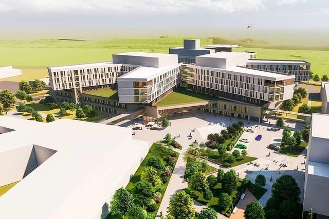 350-Millionen-Projekt: Zentralklinikum kann in Lörrach gebaut werden