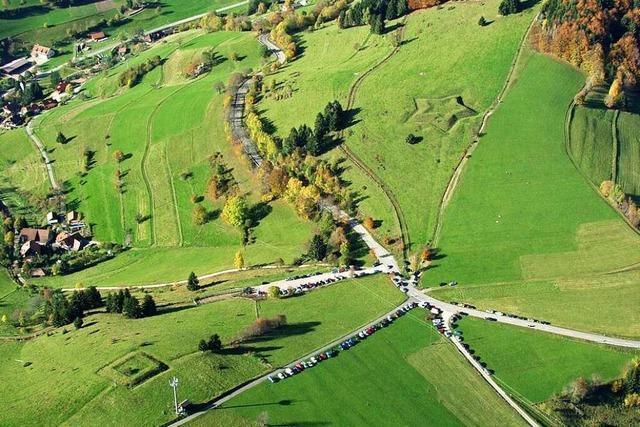 Schanzen zwischen Neuenweg und Böllen sind Zeugen blutiger Grenzscharmützel