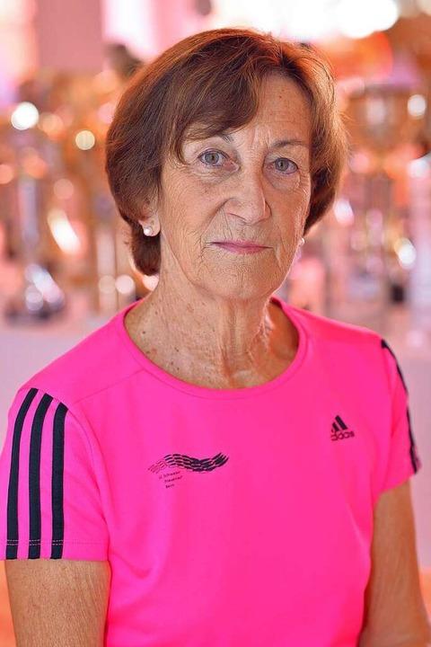 Mit 73 Jahren immer noch topfit: Inge Siegenthaler  | Foto: Achim Keller