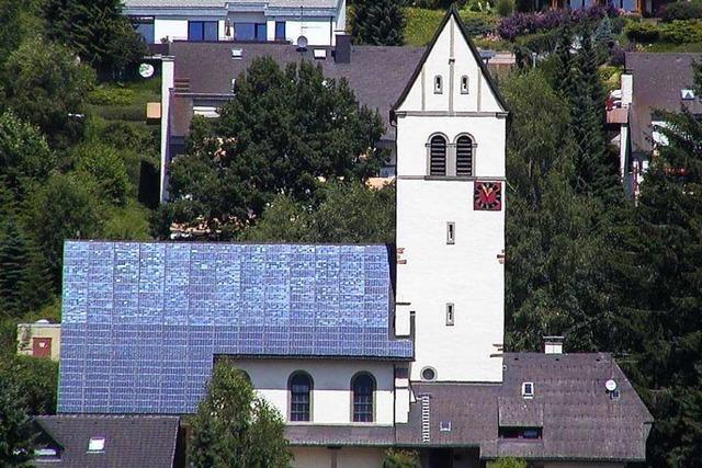 In Zell werden neue Dächer für Solarstrom gesucht