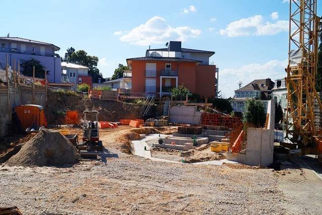 Beim neuen Platz an der Luisenstraße Ost in Badenweiler wird nicht gespart
