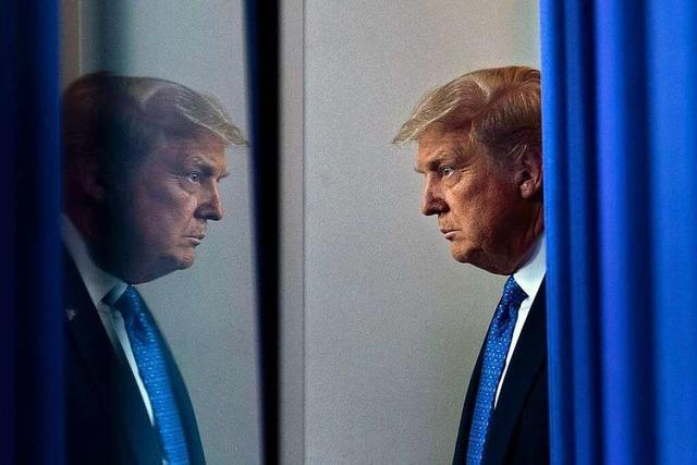 Corona-Management, Interview-Desaster: Trump wird nervös