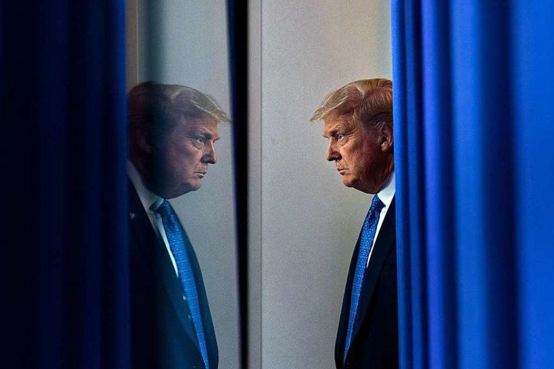 Wird Donald Trump im November für eine zweite Amtszeit gewählt?  | Foto: BRENDAN SMIALOWSKI (AFP)