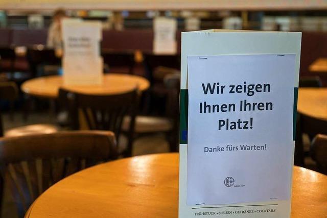 Mit dem Winter werden neue Probleme für die Restaurants heraufziehen