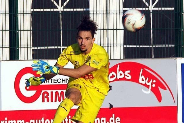 Andrea Hoxha, Torhüter des FC 08 Villingen, outet sich als der an Covid-19 erkrankte Spieler