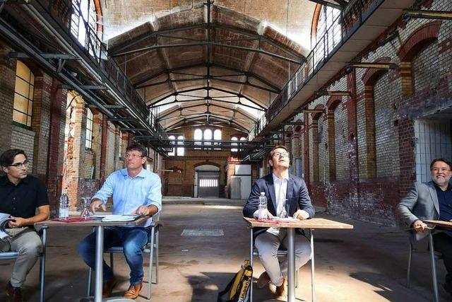 Ehemaliger Offenburger Schlachthof öffnet sich für Kultur und Wirtschaft