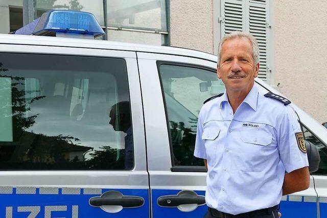 Leiter des Polizeireviers Rheinfelden findet zum Abschied auch kritische Worte