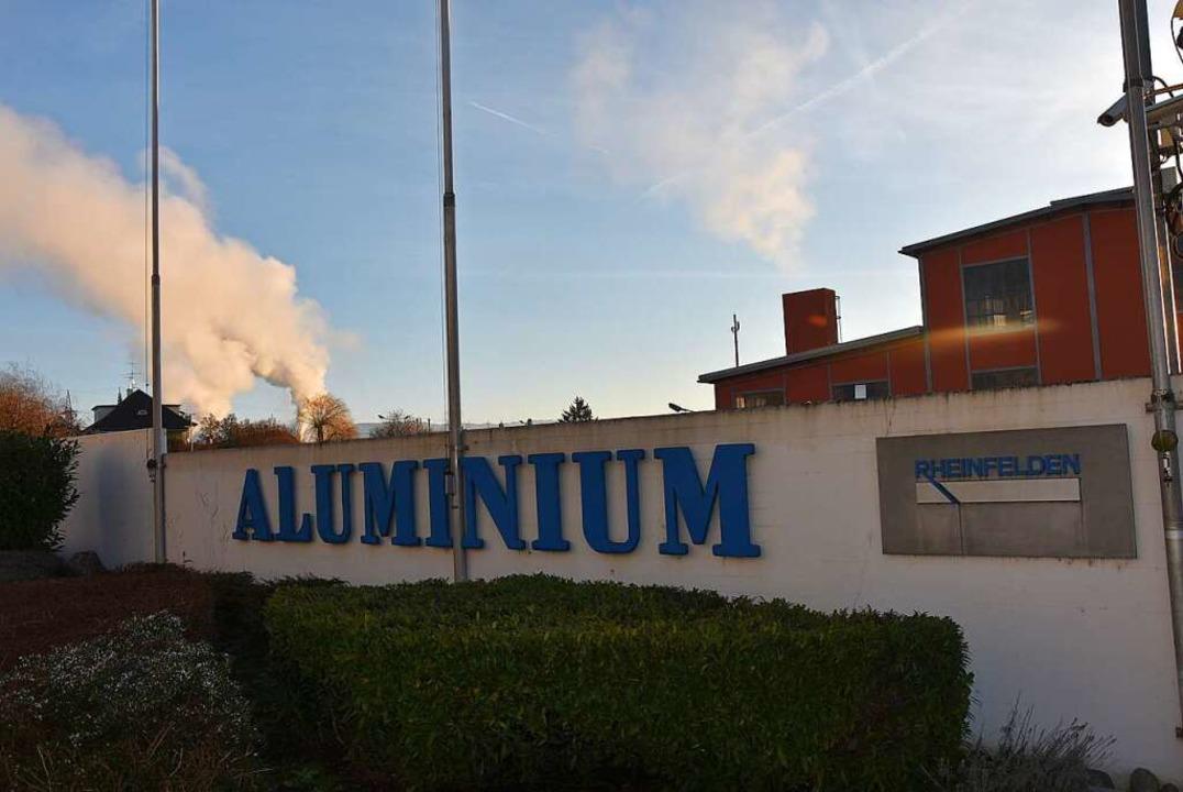 Die Alu ist ein Rheinfelder Traditionsunternehmen.  | Foto: Heinz und Monika Vollmar