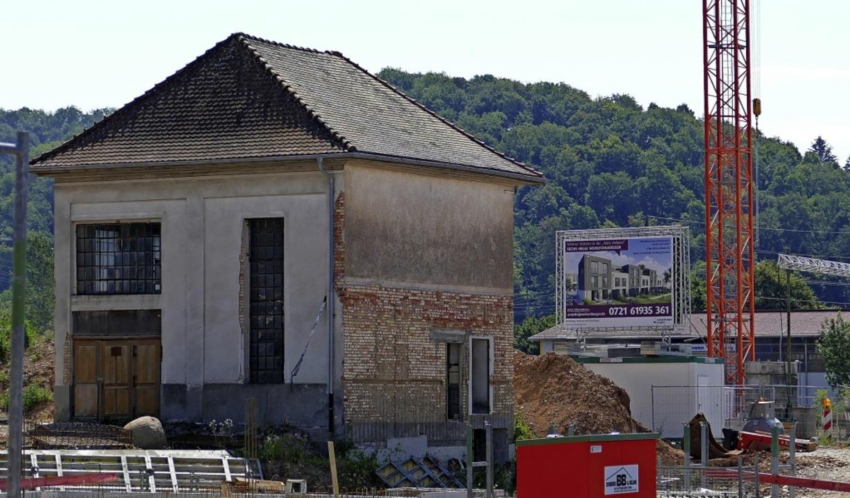Hier könnte eine Kneipe einziehen, mei... Neubaugebiet Alte Weberei aber offen.  | Foto: Martina David-Wenk