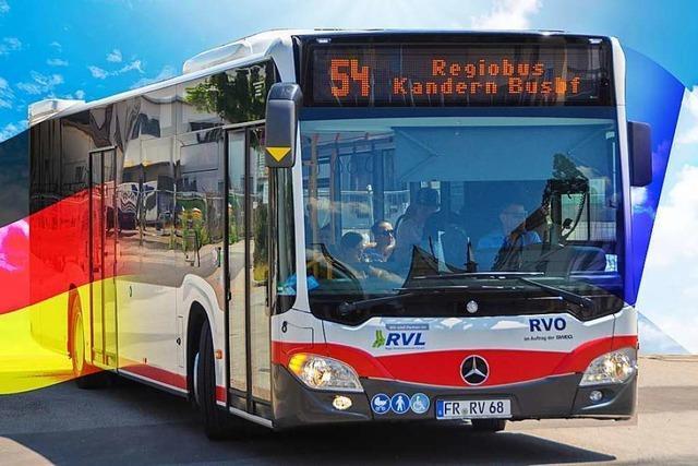 Der Kreistag hält am Bus von Lörrach via Flughafen nach Saint-Louis fest