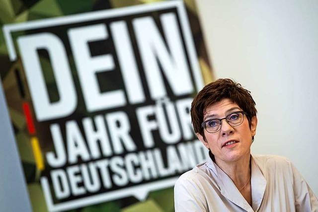 Bundeswehr sucht Freiwillige für Heimatschutz-Programm