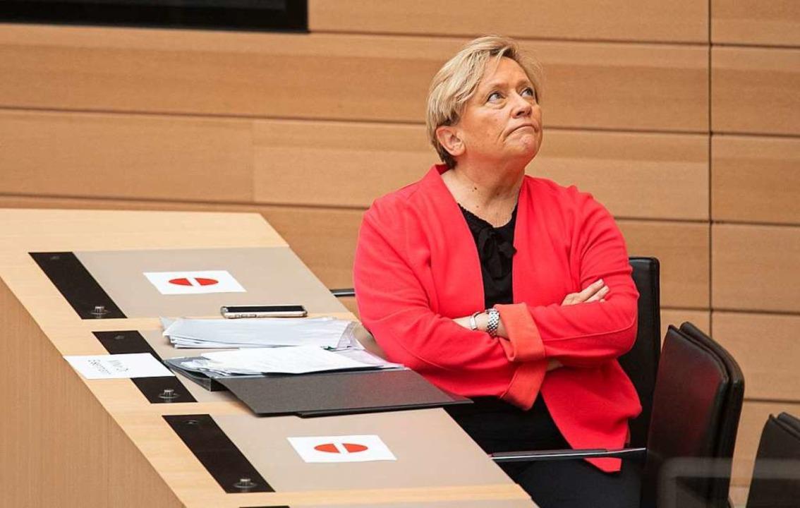 Susanne Eisenmann (CDU).  | Foto: Marijan Murat (dpa)