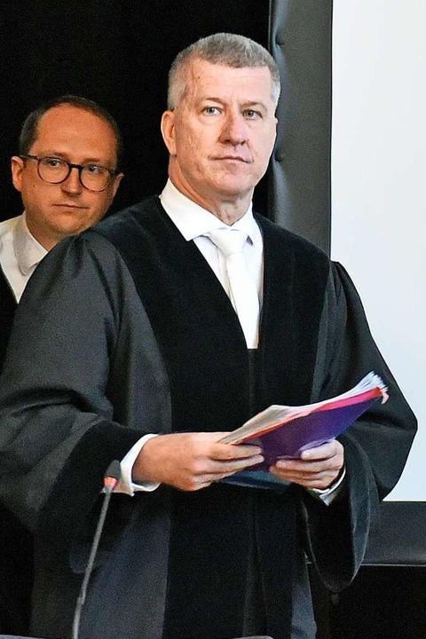 Der Vorsitzende Richter Stephan Bürgelin.    Foto: Michael Bamberger