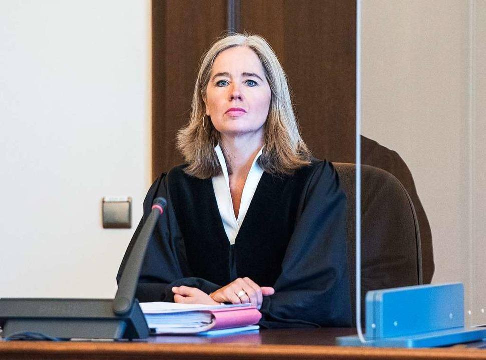 Anne Meier-Göring, Vorsitzende Richterin im Prozess  | Foto: Daniel Bockwoldt (dpa)