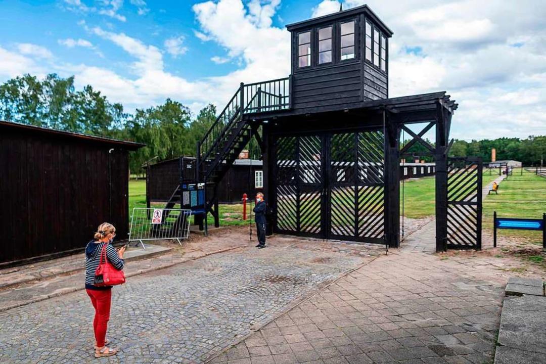 Das ehemalige deutsche Konzentrationsl...hof im polnischen  Sztutowo bei Danzig  | Foto: WOJTEK RADWANSKI (AFP)
