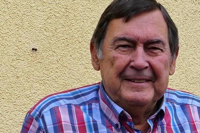 Heinz Graf, Ehrenbürger von Efringen-Kirchen, wird heute 80 Jahre alt