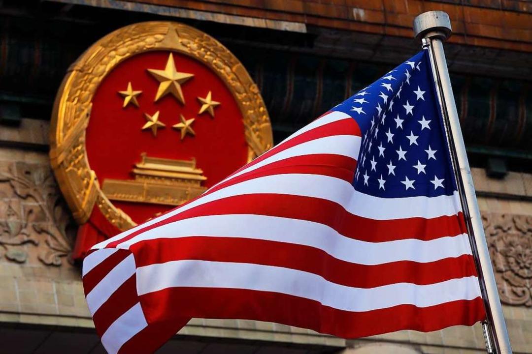 Der Streit zwischen Peking und Washington spitzt sich immer weiter zu  | Foto: Andy Wong (dpa)