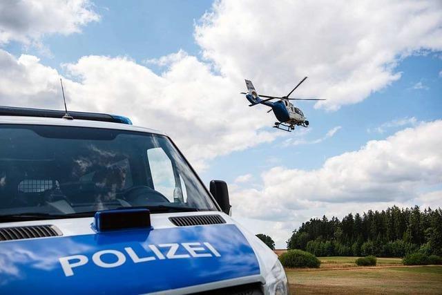 Geldautomat in der Seestraße in Titisee gesprengt – Täter werden mit Hubschrauber gesucht