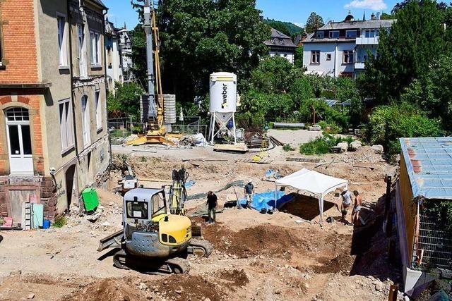 An der Freiburger Kronenstraße könnten bis zu 150 Skelette liegen