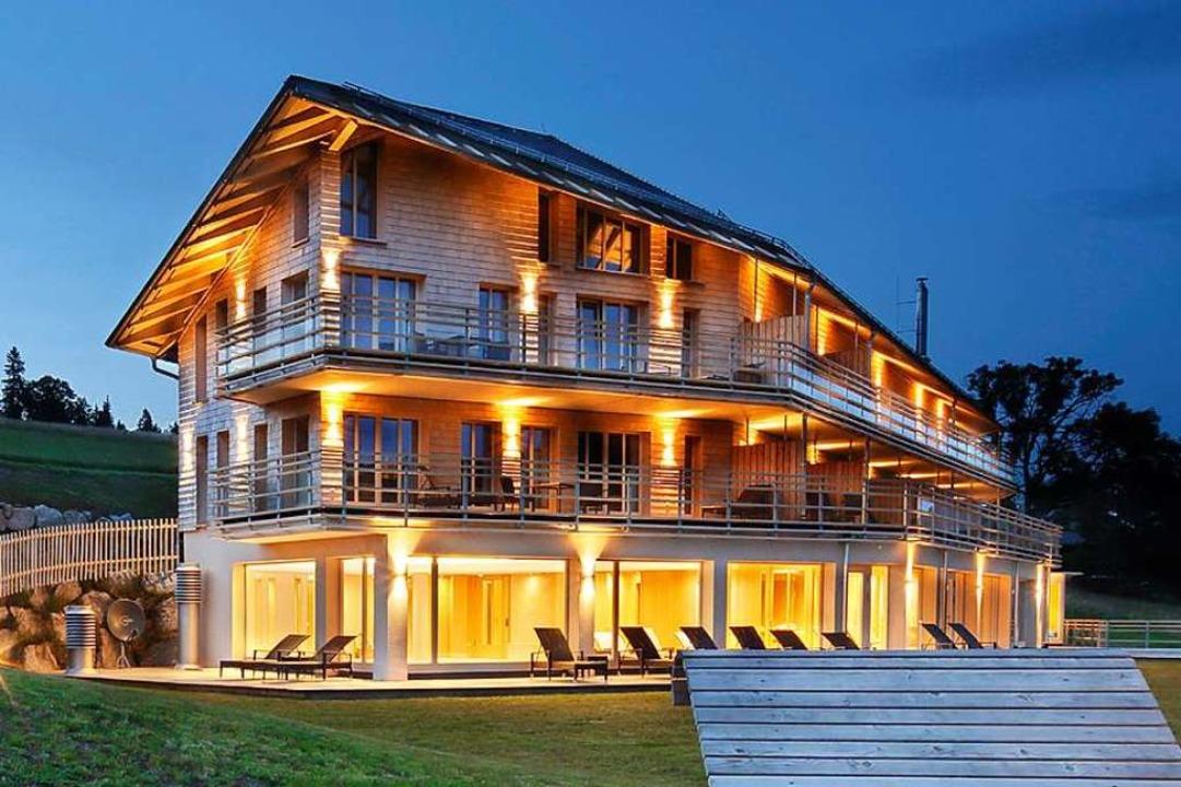 Architektonisch reizvoll ist auch der Waldfrieden in Todtnau-Herrenschwand.  | Foto: Christoph Wasmer