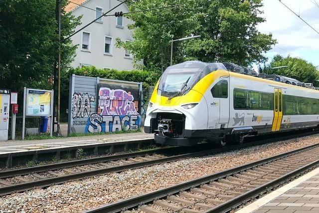 Bahn sichert Ebringen zu, dass die Gemeinde weiter angefahren wird