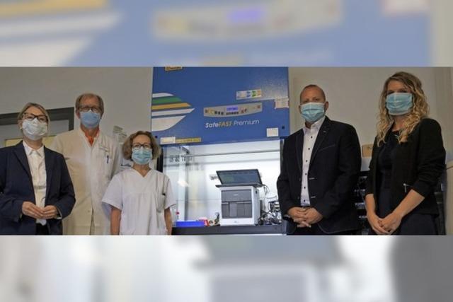 Labor kann Sars-Cov-2 identifizieren