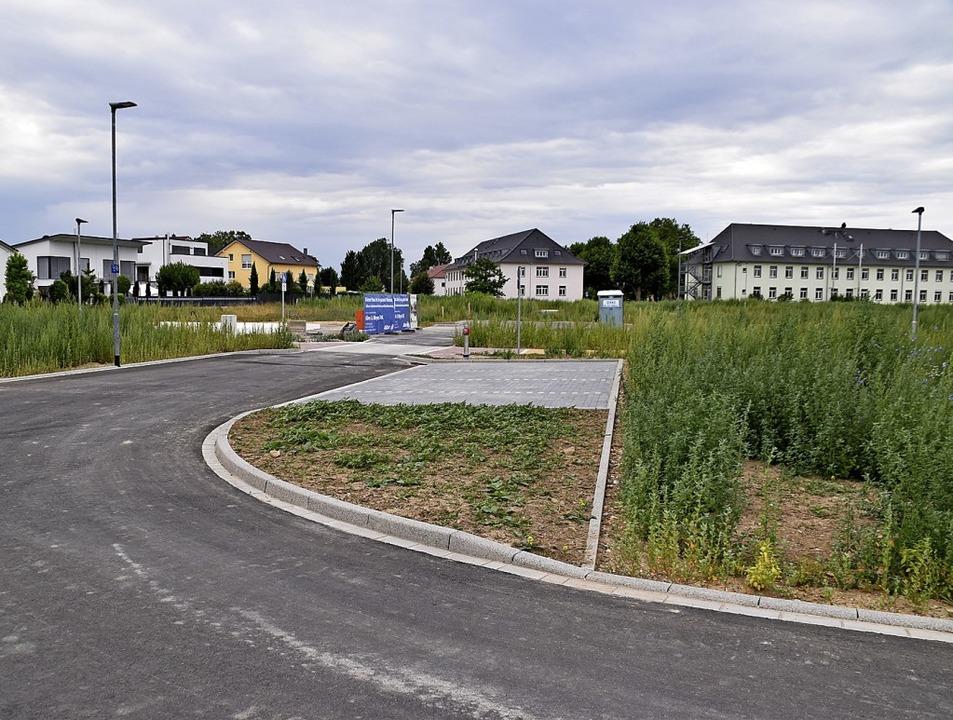 Die Erschließungsarbeiten im Neubaugeb...esenstraße II sind fast abgeschlossen.  | Foto: Thomas Rhenisch