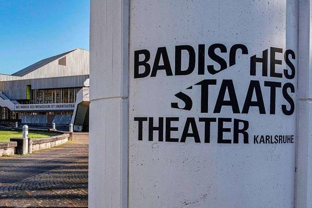 Badisches Staatstheater kündigt leitendem Mitarbeiter