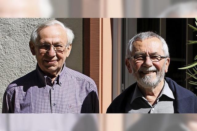 Abschied von Josef Singer und Wolfgang Bauer