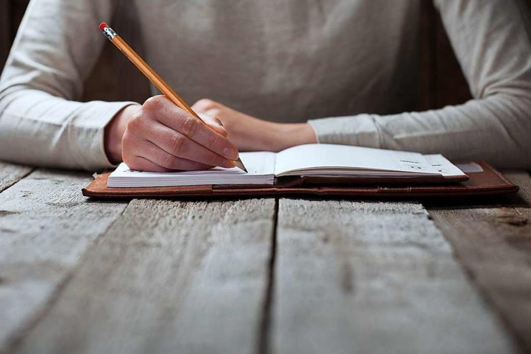 Aufschreiben, was einem wichtig ist.   | Foto: 4Max/stock.adobe.com