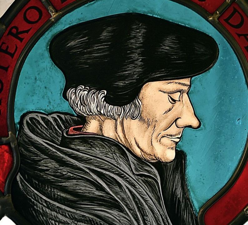 Zeitgenosse und berühmter Kollege von Ulrich Zasius: Erasmus von Rotterdam  | Foto: Thomas Kunz