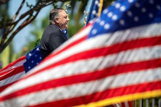 US-Außenminister geißelt die Politik des