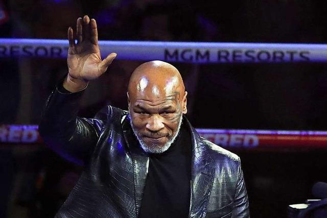 Mike Tyson kehrt in den Boxring zurück