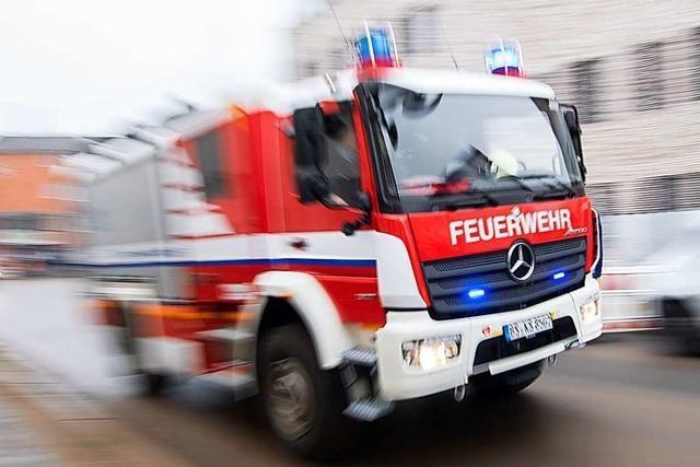 Ein Toter nach Brand in Obdachlosenunterkunft in Herrenberg
