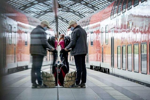 Bahn will bei Maskenpflicht-Verstößen selbst keine Bußgelder verhängen