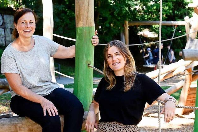 Tina Becherer und Luisa Spindler wollen frischen Schwung ins Freiburger Kinderbüro bringen