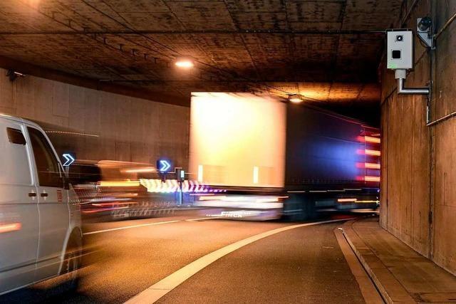 Im Freiburger Osten kommt es zu nächtlichen Tunnelsperrungen