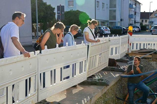 Der BUND stellt Bürgern das Rheinfelder Nahwärmenetz vor