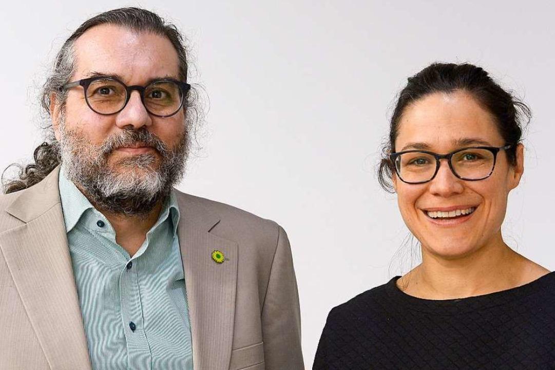 Timothy Simms und Nadyne Saint-Cast  | Foto: Ingo Schneider