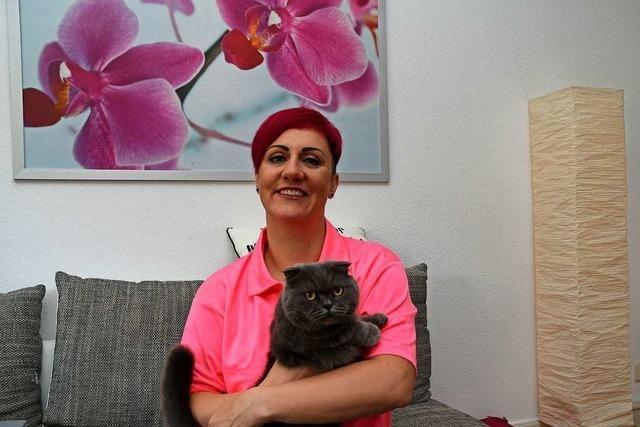 Désirée Henninger aus Friesenheim engagiert sich für Tiere und unterstützt Tierfreunde