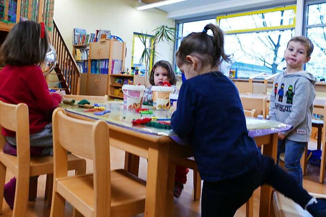 Auch nach der Erhöhung der Kindergarte...hingen nur 18 Prozent der Kita-Kosten.    Foto: Victoria Langelott
